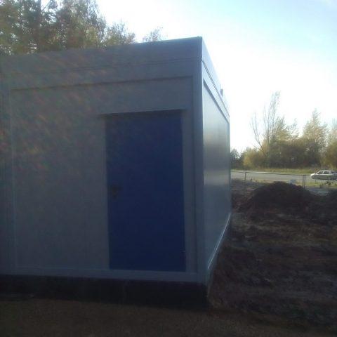 kontener budowlany dla pracowników