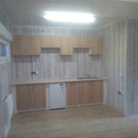 kontener mieszkalny kuchnia