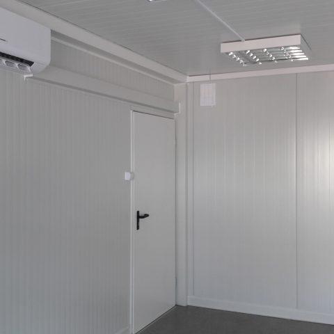 kontener biurowy z klimatyzacją