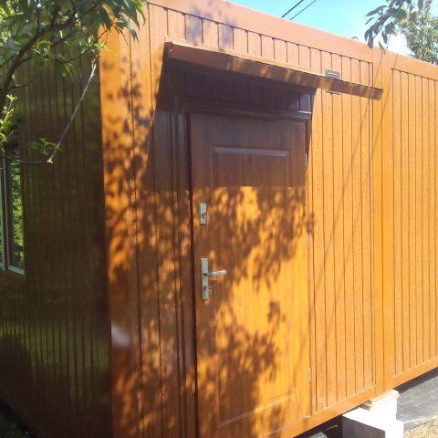 kontenery mieszkalne jako dom
