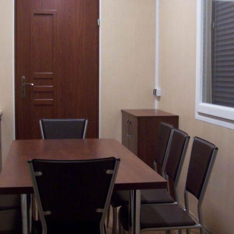 kontener biurowy z salą dla spotkań