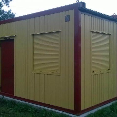 kontenery biurowy żółty