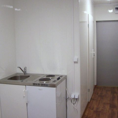 kontener mieszkalny z kuchnią