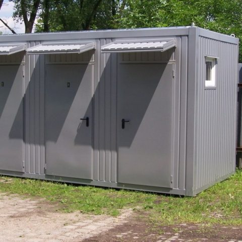 kontener sanitarny z dostawą