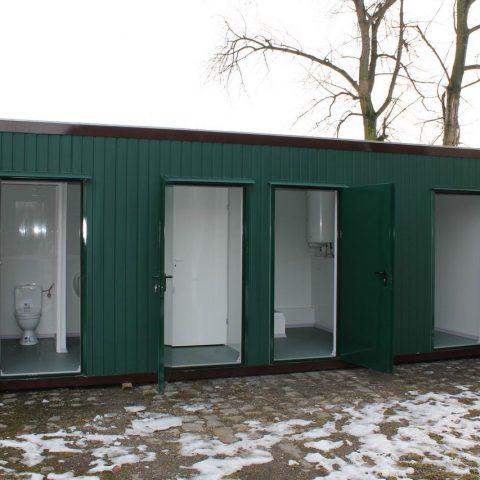 kontener sanitarne toalety łazienki