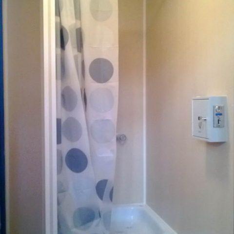 kontener sanitarny prysznic