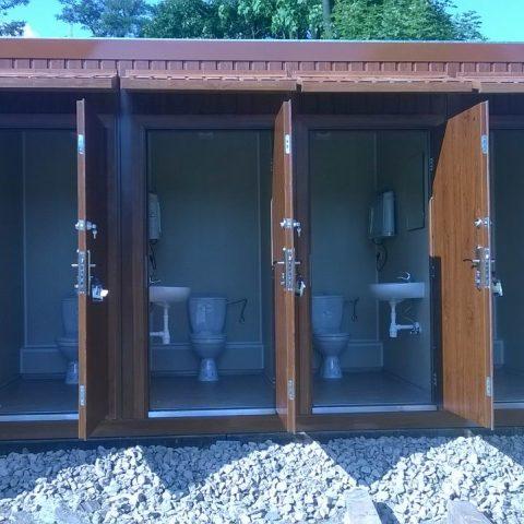 kontener sanitarne , toalety