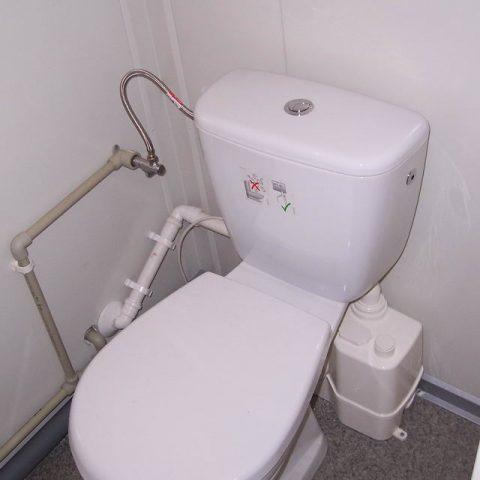 toaleta w kontenerze socjalnym
