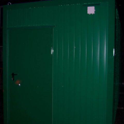 kontener socjalny zielony
