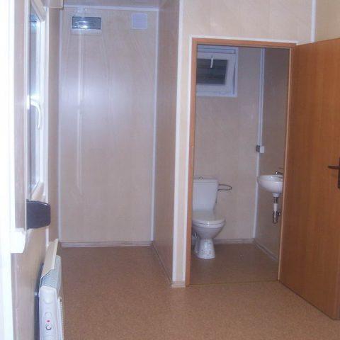kontener socjalny z toaletą