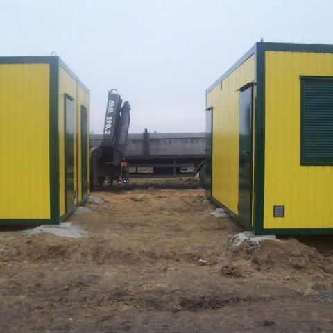 dwa kontenery